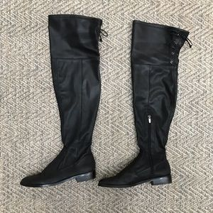 Vince Camuto over the knee boots size 10